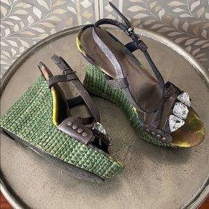 Sam Edelman espadrille heels